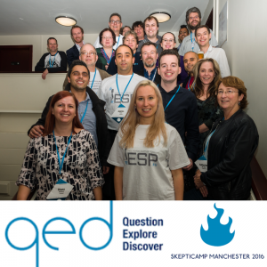 European Skeptics at QED