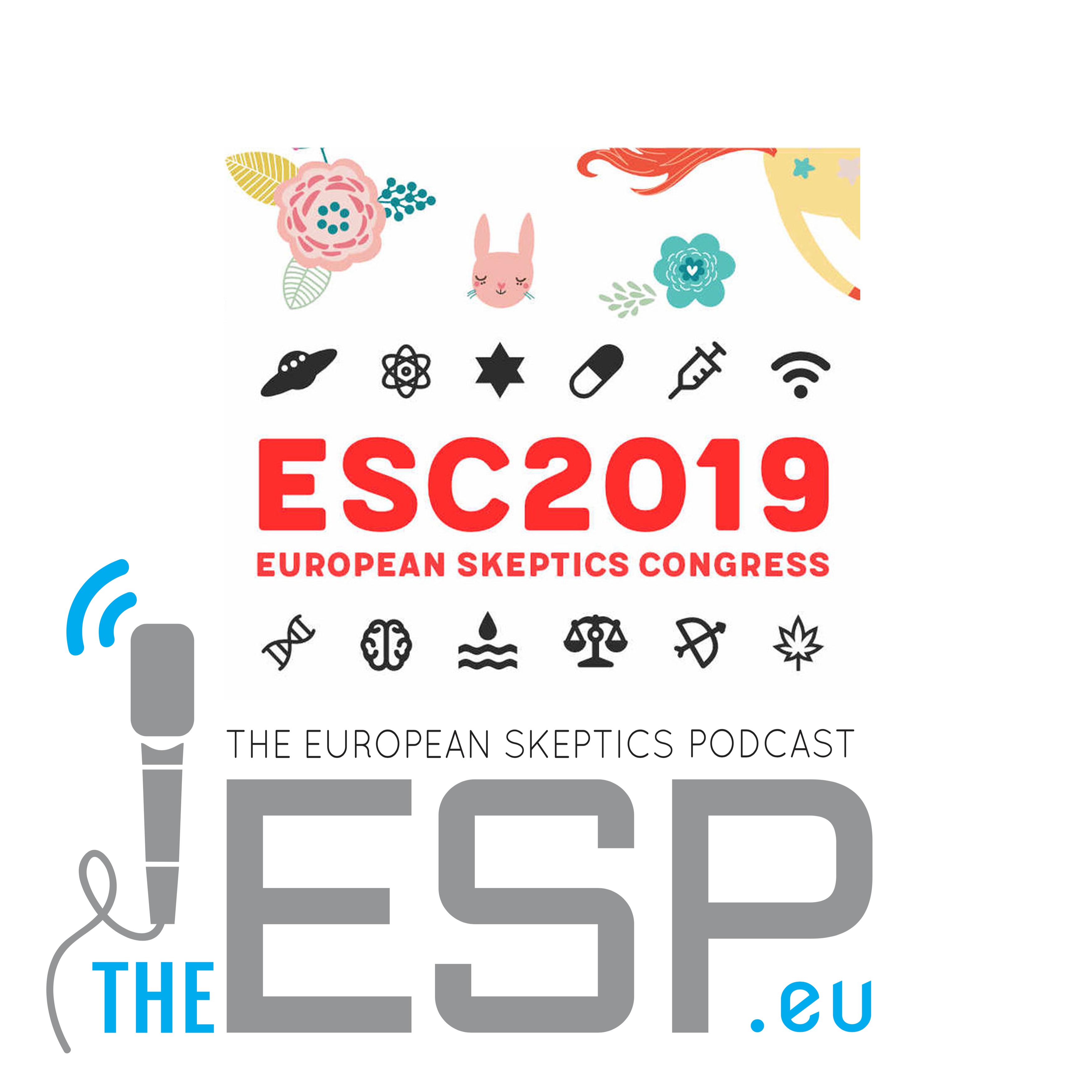TheESP – Ep. #186 - European Skeptics Congress 2019, part 1