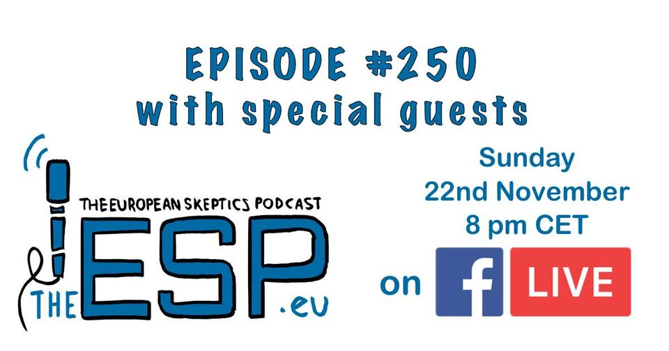 Live Stream of Ep. #250 - Tonight!